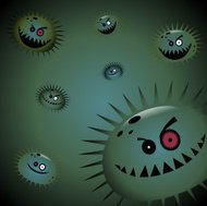 Air Pollution - Virus and Germs