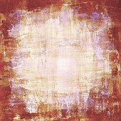 Old paper texture; mixed media abstract painting