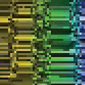 Glitch Colorful abstract background for your designs. Chaos aesthetics of