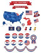 US Presidential Election 2016. Michigan State