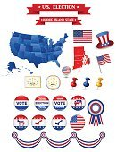 US Presidential Election 2016. Rhode Island State
