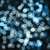 Holiday lights. New Year festive background.