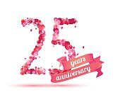twenty five (25) years anniversary