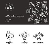 Sketchy coffee shop templates