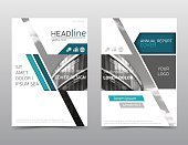 Annual report, brochure template. Leaflet layout, Modern design, a4 size.