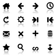 Simple Internet Navigation Icons