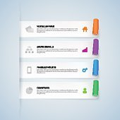 Infographic design elements. Vector illustration. Can be used for infographics.