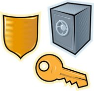 Vector objects for security