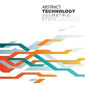 Abstract technology background in circuit tech concept.