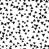 Triangle geometric background. Vector illustration