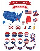 US Presidential Election 2016. Alabama State