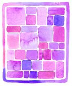 Watercolor Rectangle