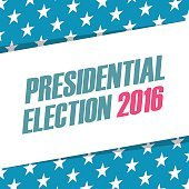 USA Presidential Election 2016 banner.
