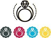 Diamond Ring - Icon