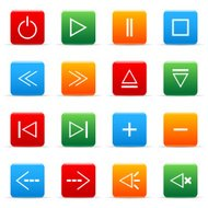 Colored vector icons (set 3)