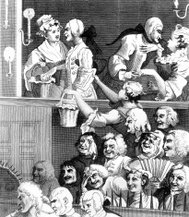 Laughing Audience, circa 1700s