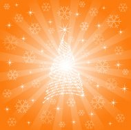 Abstract Sparkling Christmas Background