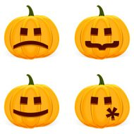 Halloween Pumpkin Faces - Smilies