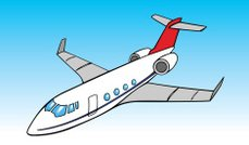 Airplane or Jet Cartoon