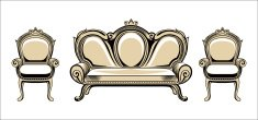 Furniture - a style baroque