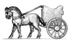 Assyrian Chariot | Antique History Illustrations