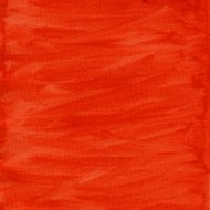 red and orange watercolor abstract with canvas texture