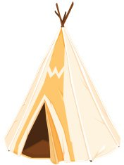 American Indian Tepee