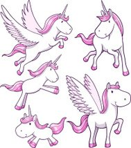 Unicorn and Pegasus Set