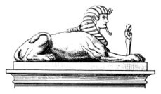 Sphinx | Antique Historic Illustrations