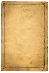Grunge paper with pattern border