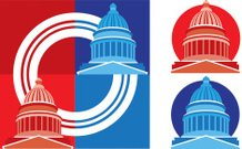 Capitol Dome or Red vs Blue States