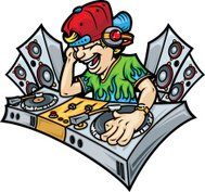Dee Jay Mixing Music