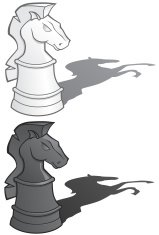 Knights Chess Pieces - vector illustrations