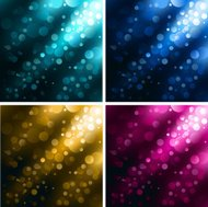 Collection of Vector Defocus Light  backgrounds