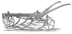 Read's Improved Scarifier 19th Century Engraving