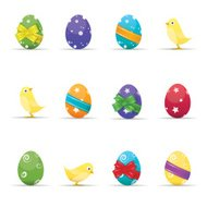 Easter Egg and Chick Collection