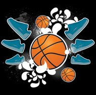 Basketball coat of arms