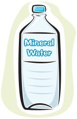Mineral Water Bottle (Vector)