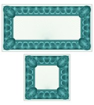 Small Certificate or Coupon Set