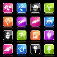 Ubergloss Icons -  Sweets & Candy