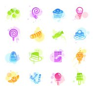 Stains Icons - Sweets & Candy