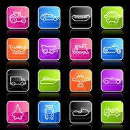 Ubergloss Icons - Transportation Outlines