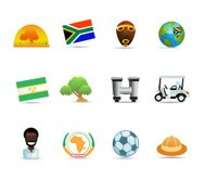 South Africa Icons
