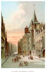Old Tolbooth and Canongate Edinburgh