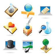 Icon concepts for knowledge