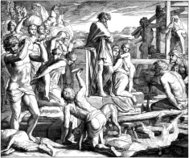 Cain Builds The City of Enoch
