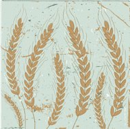 Ears Of Wheat On Grunge Background