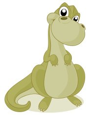 Dinosaur Cartoon - T Rex