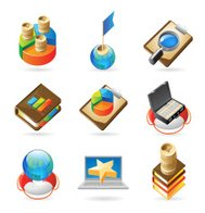 Icon concepts for success
