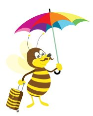 bee going on vacation